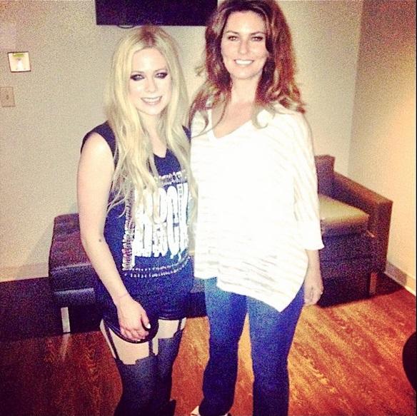 Shania Boards - Shania Attends Avril Lavigne Concert Avril Lavigne Instagram