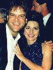 Shania w/Gino Ruberto at 1995 CMA Party