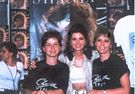 Shania w/her sister Carrie Ann and half-sister Jill